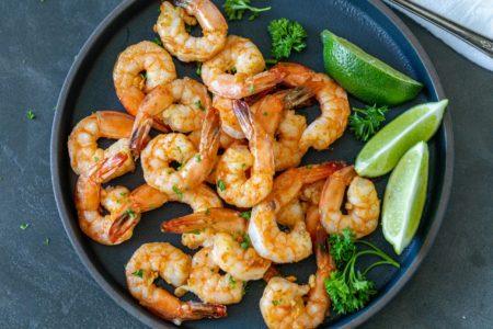 Air Fryer Parmesan Shrimp
