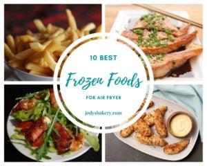 best frozen foods for air fryer