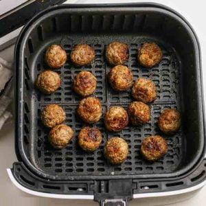 Air Fryer Meatballs