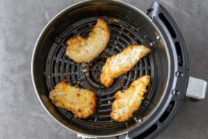 Air fry at 390 °F for about 4 minutes
