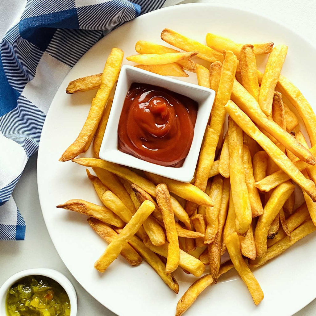 Best frozen food for air fryers - frozen french fries