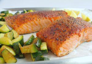 Best frozen food for air fryers - Frozen Salmon Fillets