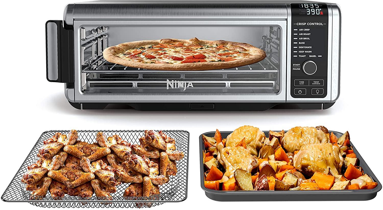 Best Compact Digital Air Fryer Toaster Oven - Ninja SP101 Foodi 8-in-1