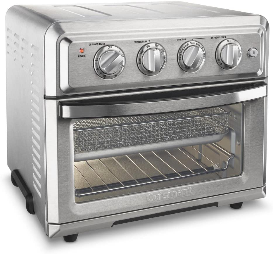 Best Overall- Cuisinart TOA-60 Convection Toaster Oven Air Fryer