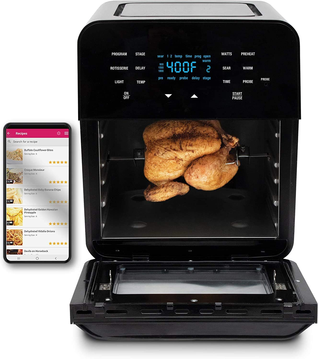 Best Seller Air Fryer with rotisserie - NuWave Brio