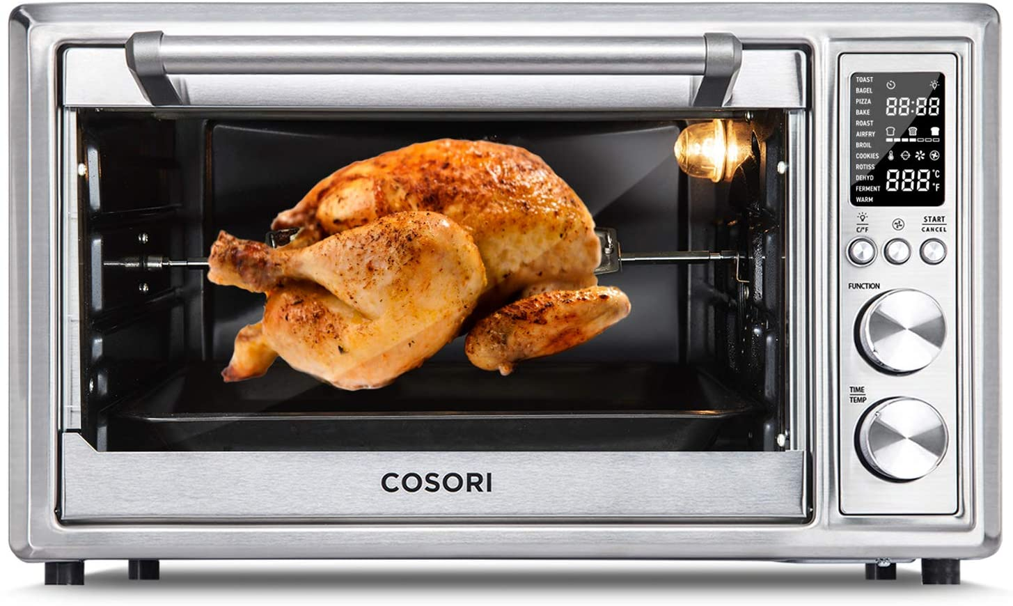 Cosori Air Fryer Toaster Oven with Rotisserie and Dehydrator