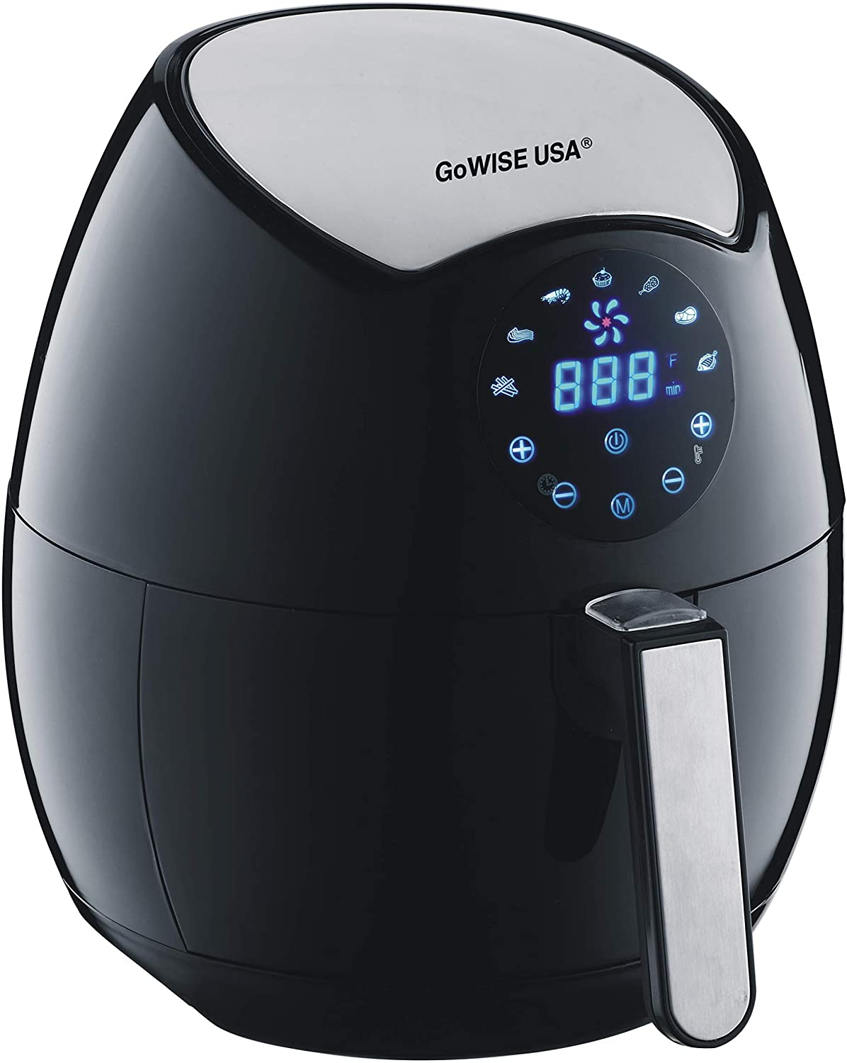 GoWISE USA Ming's Mark GW22621 Electric Air Fryer, 3