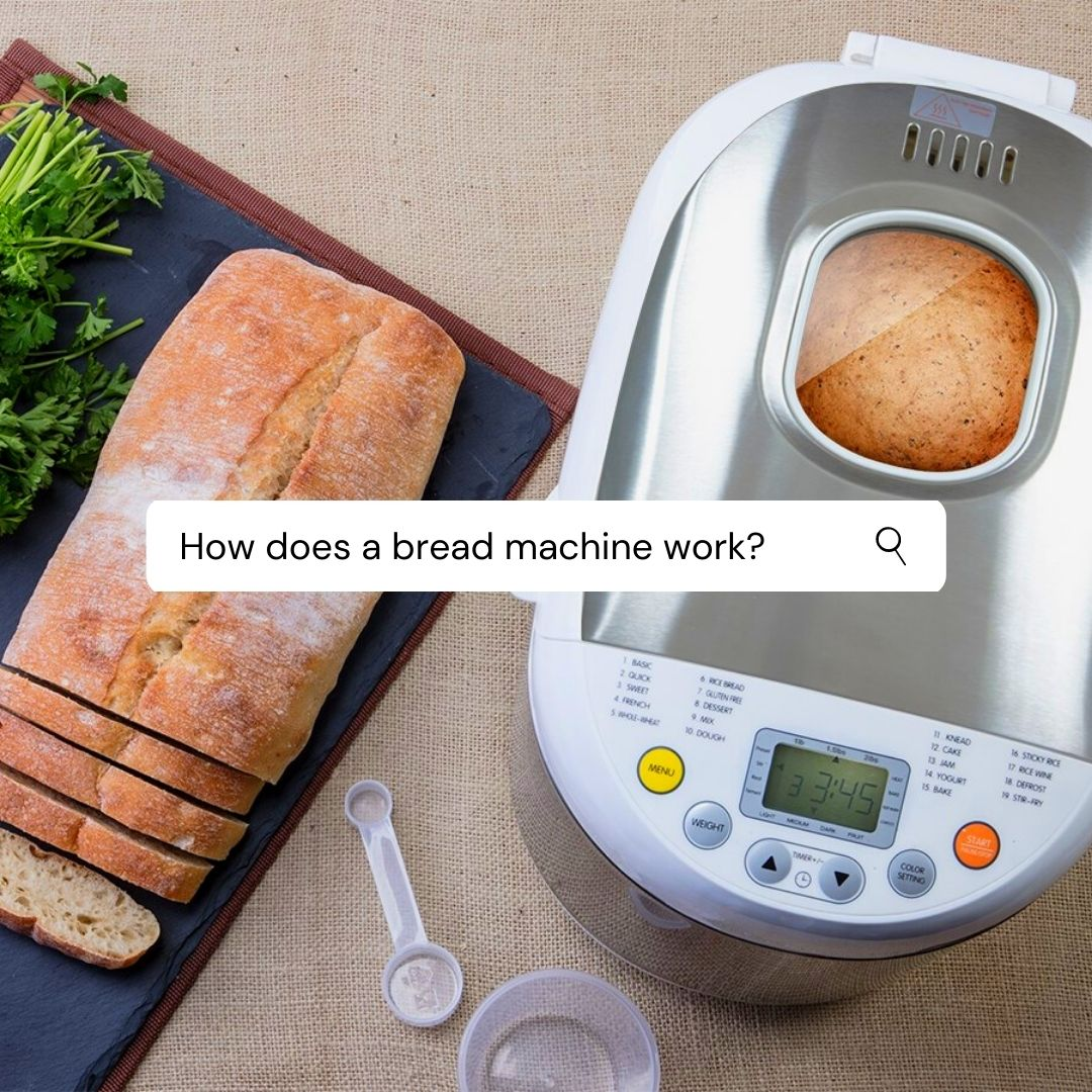 How does a bread machine work
