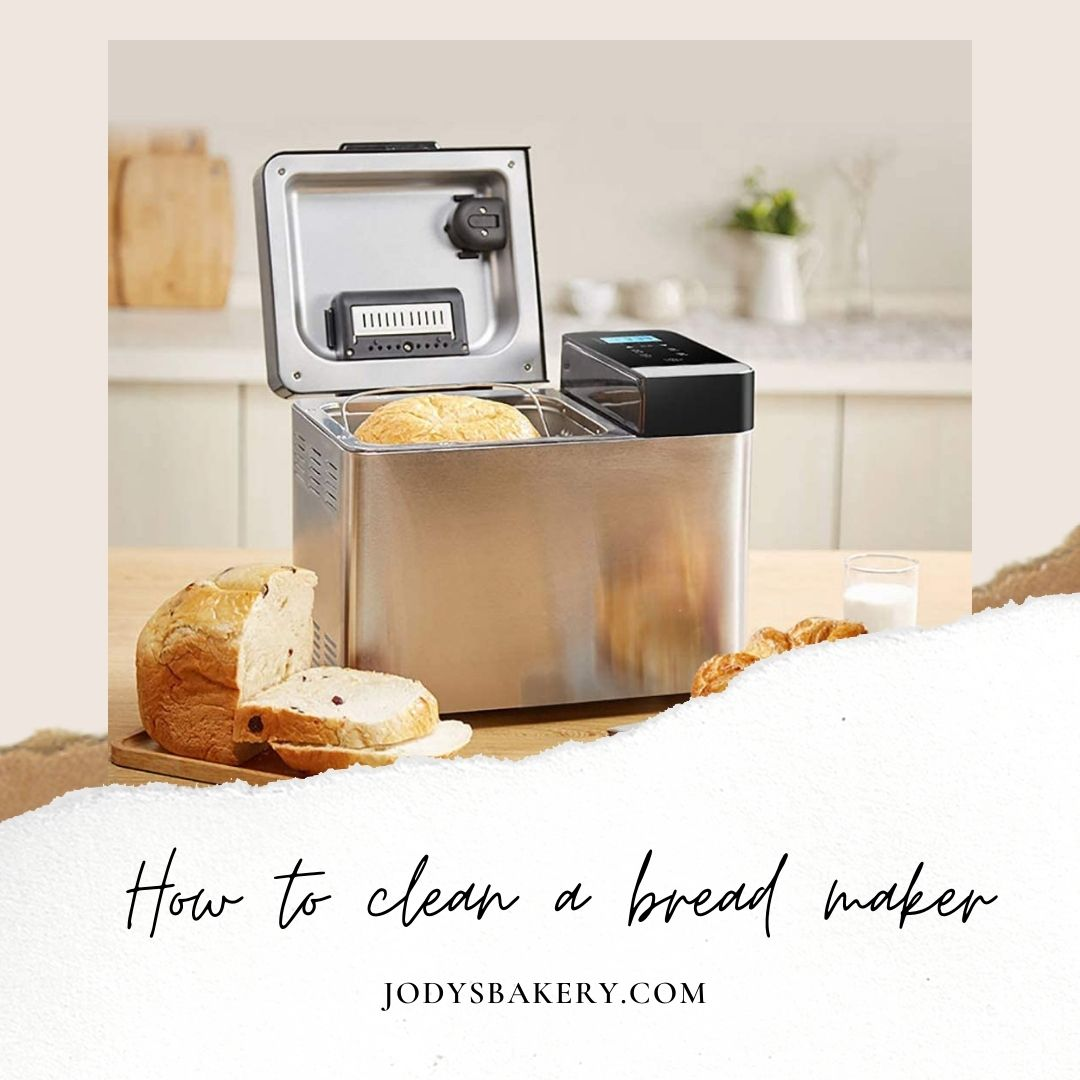 How to clean a bread maker