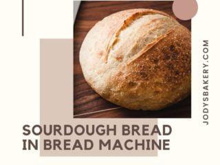 Sourdough Bread In Bread Machine
