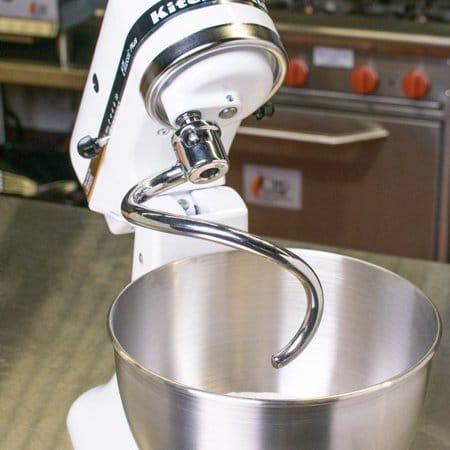 Spiral dough hook for stand mixer
