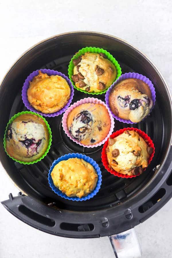 cupcakes in air fryer
