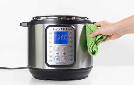 How to clean Instant Pot Exterior
