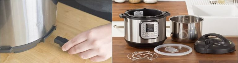 Unplug and Disassemble Instant Pot