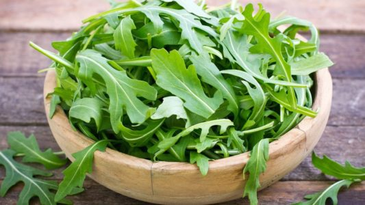 Arugula is best for smoothies