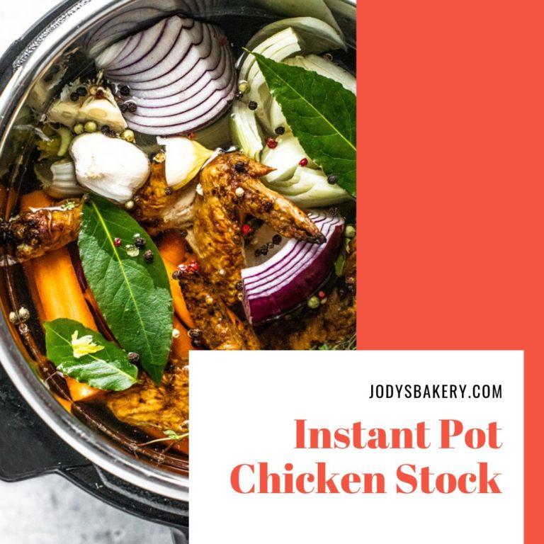 Instant Pot Chicken Stock Recipe